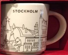 Starbucks City Mug 2017 Stockholm YAH XMAS