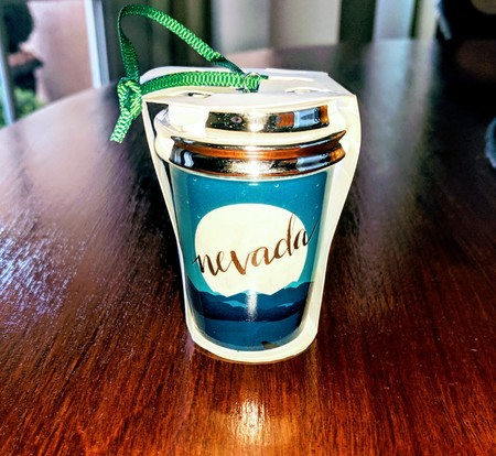 Starbucks City Mug 2017 Nevada 'Desert Moon' Tumbler Ornament