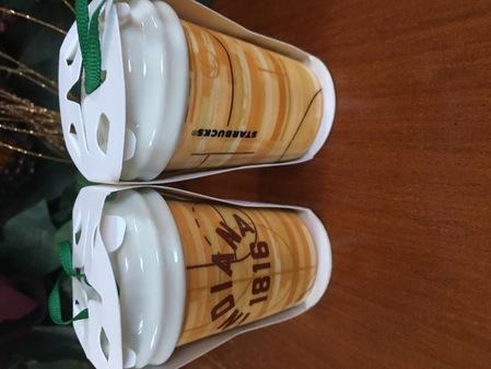 Starbucks City Mug 2017 Indiana ornament