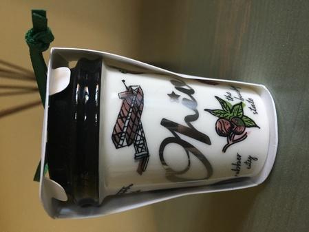 Starbucks City Mug 2017 Ohio ornamnet