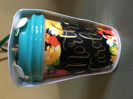 Starbucks City Mug 2017 North Carolina ornament