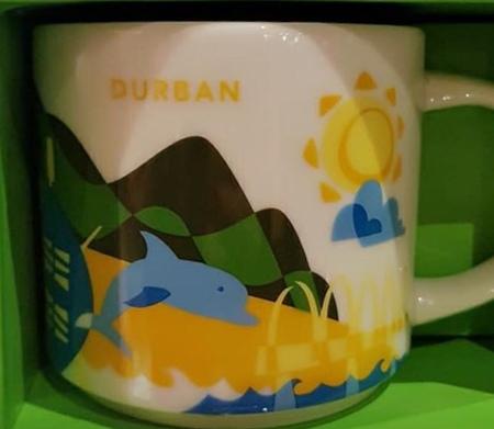 Starbucks City Mug Durban YAH