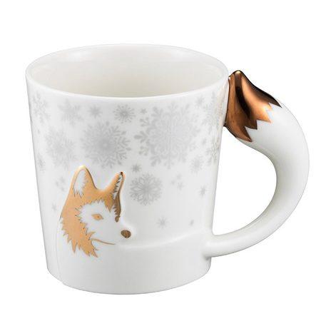 Starbucks City Mug 2017 Holiday Husky Mug