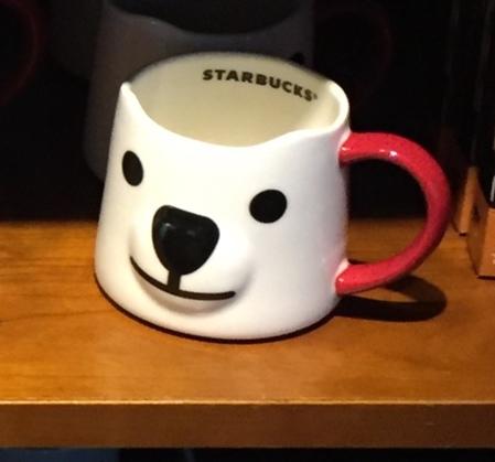 Starbucks City Mug 2017 Polar Bear Face Mug