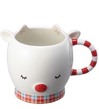 Starbucks City Mug 2017 Rudolph Mug