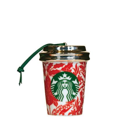 Starbucks City Mug 2017 Poinsettia Ornament