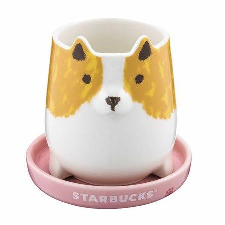 Starbucks City Mug 2018 CNY Year of the Dog Mini Mug with Saucer