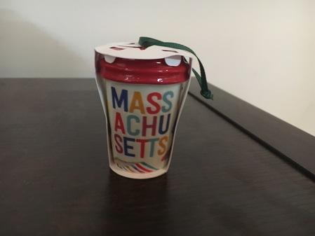 Starbucks City Mug 2017 Massachussets Ornament