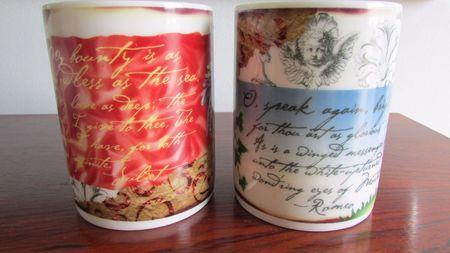 Starbucks City Mug Cupid Valentine Romeo & Juliet candle mug