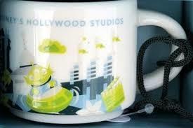 Starbucks City Mug Disney's Hollywood Studios Ornament v3
