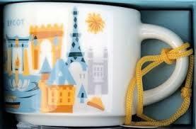 Starbucks City Mug Epcot Ornament v2