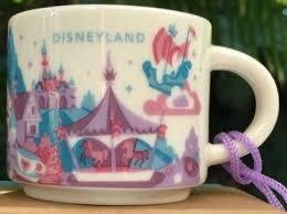 Starbucks City Mug Disneyland Ornament v2