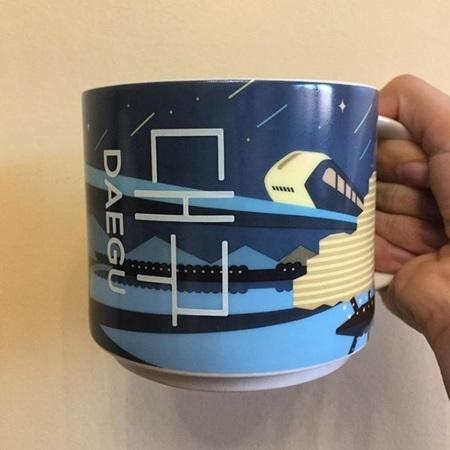 Starbucks City Mug Daegu City Mug 2017
