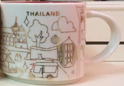 Starbucks City Mug 2017 Thailand YAH Christmas Mug