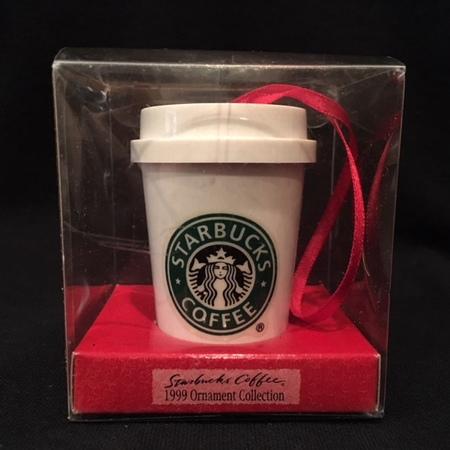 Starbucks City Mug 1999 Classic Logo Cup To Go Ornament