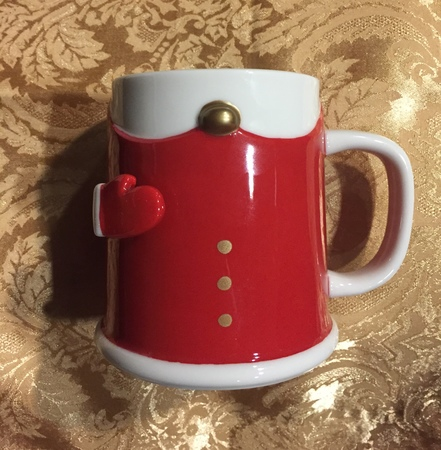 Starbucks City Mug 2017 Santa's Mitten Mug