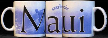 Starbucks City Mug Maui
