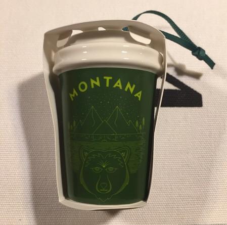 Starbucks City Mug 2017 Montana Ornament