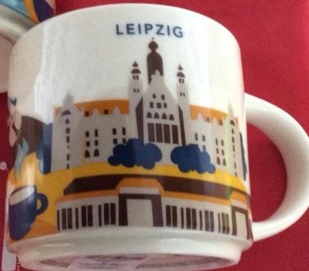Starbucks City Mug Leipzig YAH