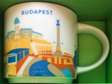 Starbucks City Mug Budapest YAH v2