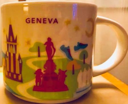 Starbucks City Mug Geneva YAH