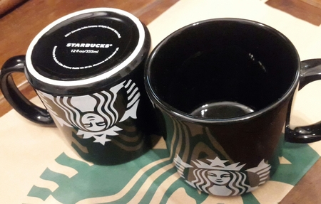 Starbucks City Mug 2017 Starbucks Mug Black Mermaid x 12 oz