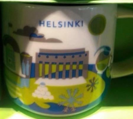 Starbucks City Mug Helsinki YAH