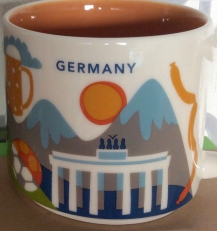 Starbucks City Mug Germany YAH