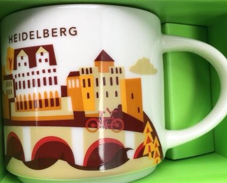 Starbucks City Mug Heidelberg YAH