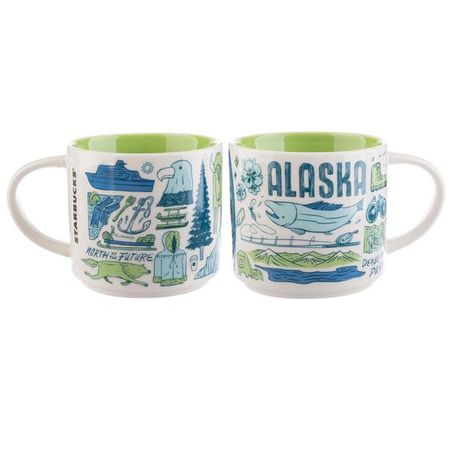 Starbucks City Mug Been There Alaska