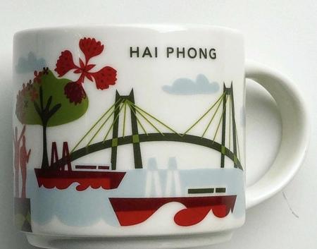 Starbucks City Mug Hai Phong YAH
