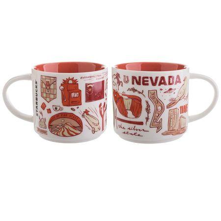 Starbucks City Mug Been There Nevada