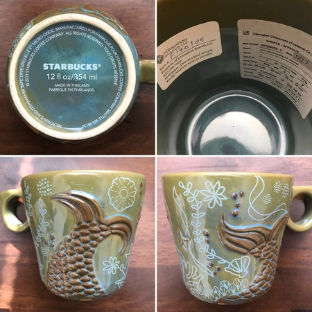 Starbucks City Mug 2013 Prototype green anniversary mug