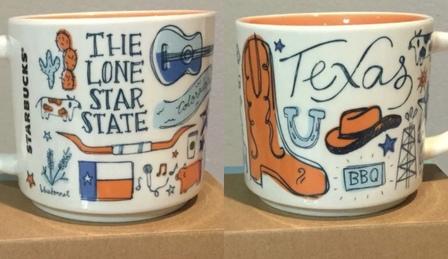 Starbucks City Mug Been There Texas