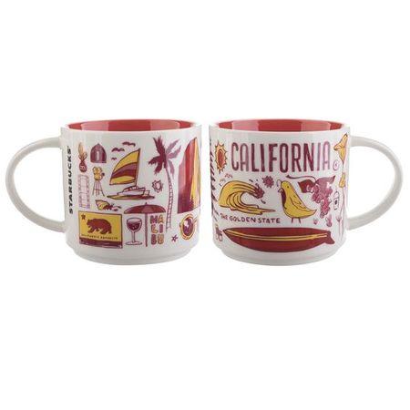 Starbucks City Mug Been there California