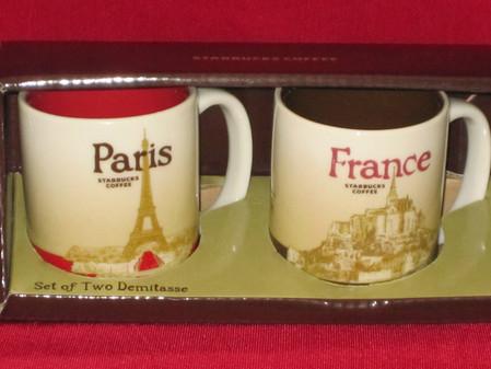 Starbucks City Mug France - Global Icon Demitasse