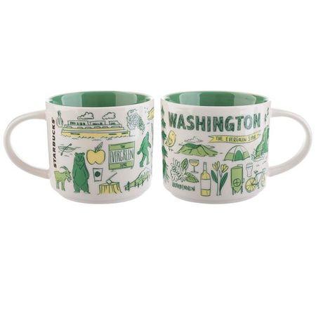 Starbucks City Mug Been There Washington