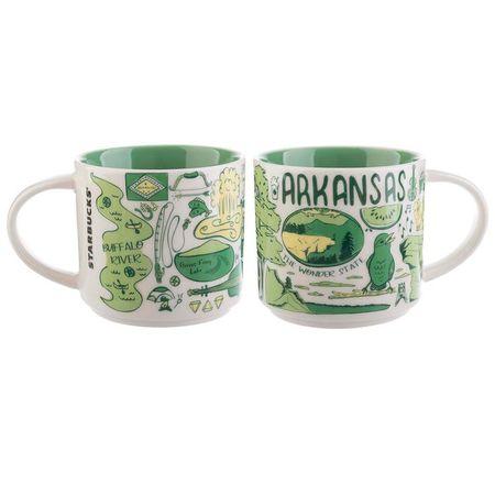 Starbucks City Mug Been There Arkansas