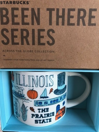 Starbucks City Mug Been There Illinois