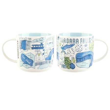 Starbucks City Mug Been There Niagara Falls
