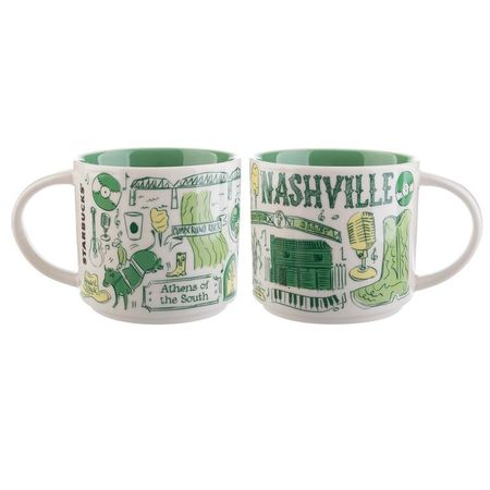 Starbucks City Mug Been There Nashville