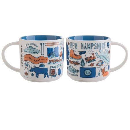 Starbucks City Mug Been There New Hampshire