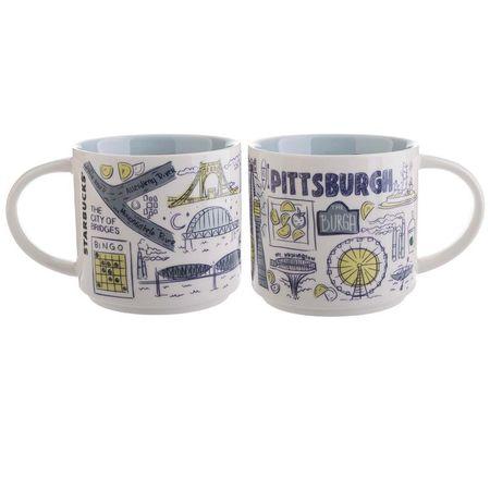 Starbucks City Mug Been There Pittsburgh