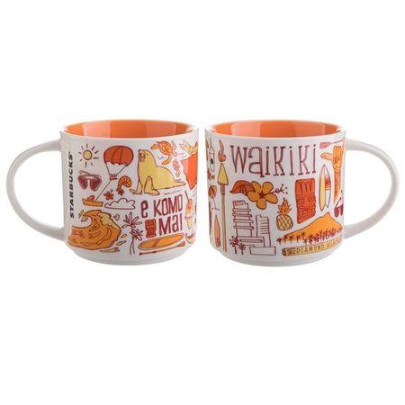 Starbucks City Mug Been There Waikiki
