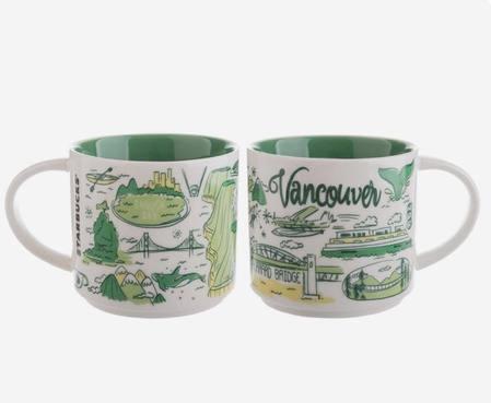 Starbucks City Mug Been There Vancouver