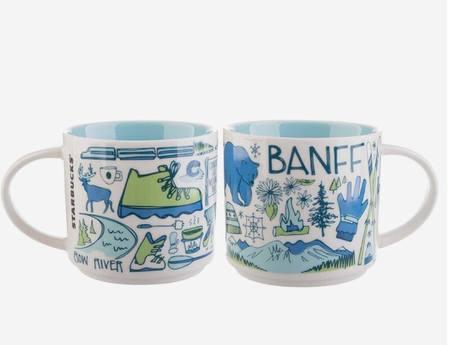Starbucks City Mug Been There Banff