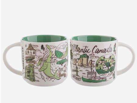 Starbucks City Mug Been There Atlantic Canada