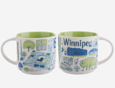 Starbucks City Mug Been There Winnipeg