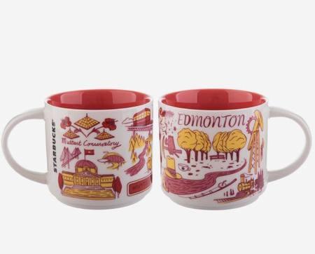Starbucks City Mug Been There Edmonton