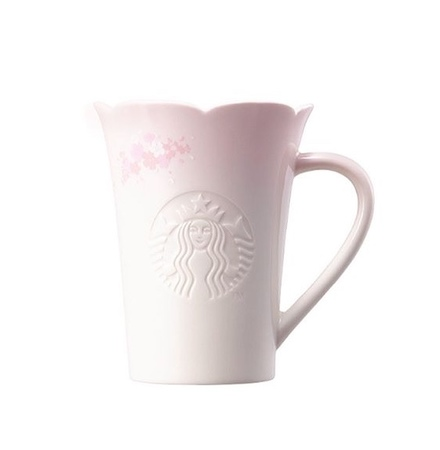 Starbucks City Mug 2018 Sakura Open Petals Siren Mug